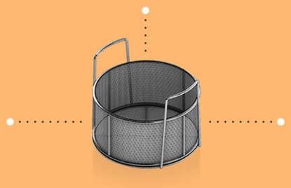 Medium Basket Measurements (round)