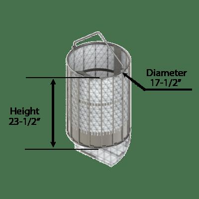 Spin Dryer Basket